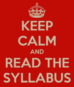 keepcalmreadsyllabus
