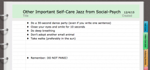 Soc Psyc Self Care Jazz